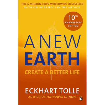 A New Earth - Create A Better Life by Eckhart Tolle (Paperback), Books, New