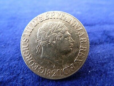 gold sovereign 1820 George III sovereign solid 22 carat gold