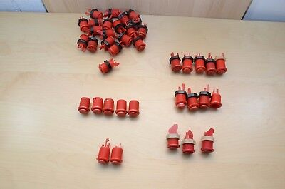 Lots of Arcade Buttons (Red)