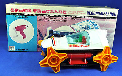 Weltraumauto  Tin Toy: Asahi Ca Star Space Traveller Reconnaissance, Japan, 1970