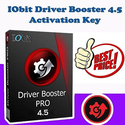 IOBIT Driver Booster 4.5 PRO | License Key *** Instant Delivery ***
