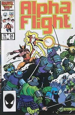 ALPHA FLIGHT #33 34-50 ANN.1-2 1ST Lady Deathstrike X-MEN WOLVERINE 16 COMICS