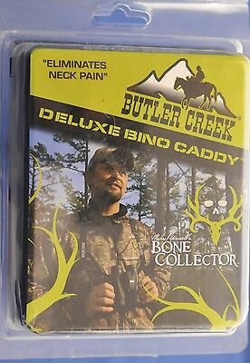 Butler Creek BONE COLLECTOR Deluxe Edition Bino Caddy Binocular Harness, Black