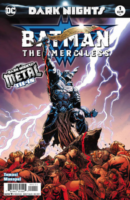 BATMAN THE MERCILESS - SOLD OUT FIRST 1st PRINT FOIL COVER - DARK NIGHTS METAL