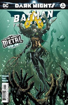 BATMAN THE DROWNED - SOLD OUT FIRST 1st PRINT FOIL COVER - DARK NIGHTS METAL