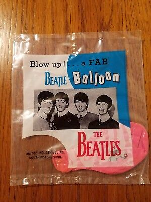 THE BEATLES - Original BEATLE BALLOON - Blow up... a Fab - Unopened - USA