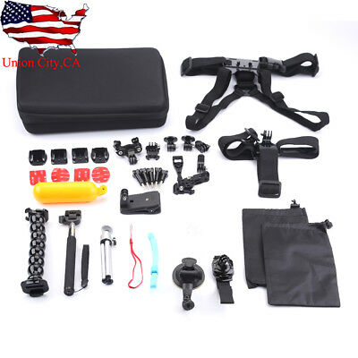 Monopod Pole Floating Mount Accessories Kit For GoPro Hero 4 3 2 1 Sports Camera