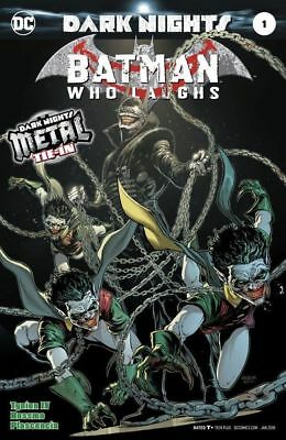 THE BATMAN WHO LAUGHS - SOLD OUT FIRST 1st PRINT FOIL COVER - DARK NIGHTS METAL