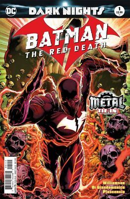 BATMAN THE RED DEATH - SOLD OUT SECOND 2nd PRINT EDITION - DARK NIGHTS METAL