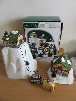 "Department 56  Dept 56 ""Village Animated Gondola"" #56.52511 As-Is"