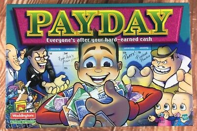 Waddingtons Payday Board Game 100% Complete by Hasbro 2000