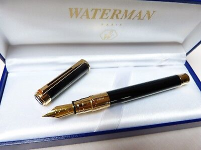 Waterman Perspectiv Füllfederhalter  F Fountain Pen   MINT NEVER USED