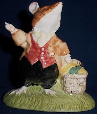 Royal Doulton - Brambly Hedge - Lord Woodmouse - Figurine - Dbh 31 - With Box