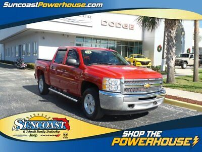 2013 Chevrolet Silverado 1500 LT Crew Cab Pickup 4-Door 2013 Pickup Used Gas/Ethanol V8 5.3L/323 4-Speed Automatic Ethanol -  4WD crew