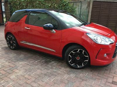 Citroen DS3 1.6 VTI DStyle Plus Red(120BHP) Good Condtion with Very Low Mileage