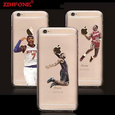 NBA basketball star phone case for iphone 5 5s 5se 6 7 plus