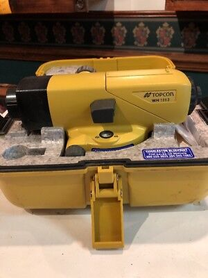 TOPCON AT-B4 AUTOMATIC LEVEL SURVEYING Transit Used Once! Excellent Shape