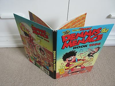 THE BEANO'S DENNIS THE MENACE BOOK/Annual 1996- Good condition