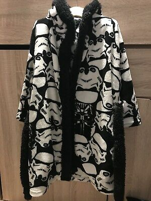 Next Boys Star Wars Dressing Gown/robe Age 5-6 Years