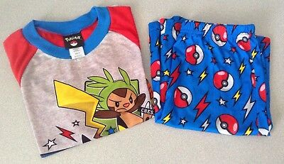 Boys' Pokemon Pajama Set – Shorts and Short Sleeve Shirt – Size 12 – NEW!
