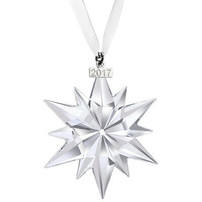 Swarovski Annual Edition 2017 Chrismas Crystal Star Ornament 5257589