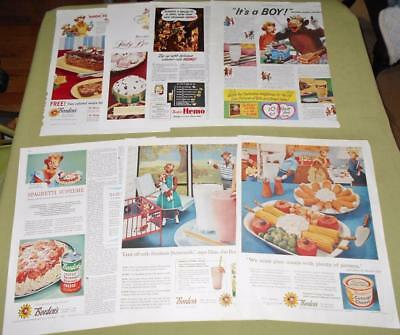 Vintage Borden's Elsie the Cow Magazine Ad Pages