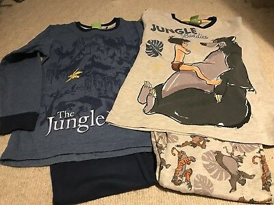 Next Boys Pyjamas Jungle Book Age 5-6 Years