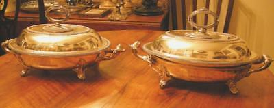 Antique Serving Dishes from Queens Hotel, Toronto,Canada, now Royal York