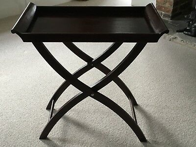 Butlers Tray And Stand