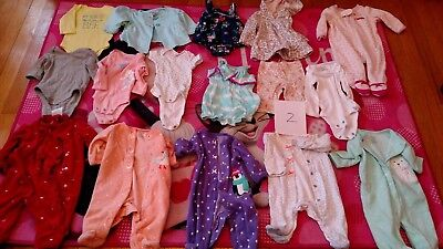 Newborn baby girl clothes lot. Good condition