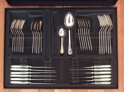 Strachan English Bead Stainless Steel Cutlery Set