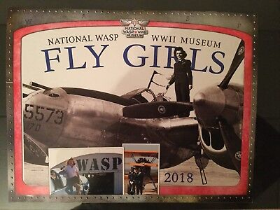 Inspirational! Fly Girls 2018 Calendar, Vintage photos-National Wasp WWII Museum