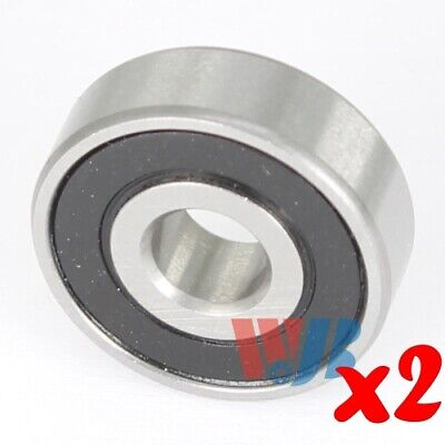 2pc Miniature Ball Bearing 5x16x5mm WJB 625-2RS with 2 Rubber Seals