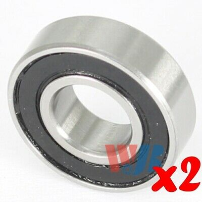 2pc Miniature Ball Bearing  4x9x4mm WJB 684-2RS with 2 Rubber Seals