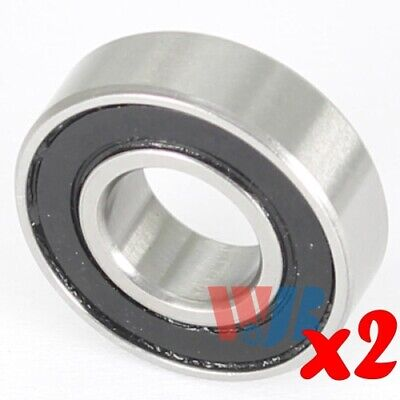 2pc Miniature Ball Bearing 5x11x5mm WJB 685-2RS with 2 Rubber Seals