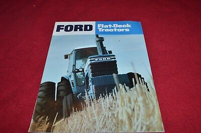 Ford 9700 8700 7700 6700 Tractor Dealer's Brochure YABE14