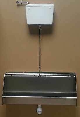 Stainless urinal trough  1500 mm