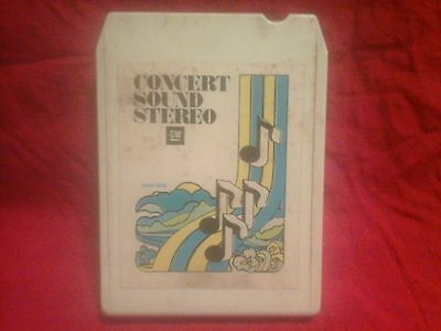 1977 General Motors Concert Sound Stereo 8-Track Tape Promotional Giveaway