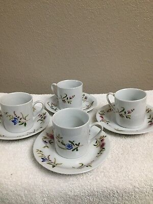 Versailles set of cups & saucers 4 / new in boxs/ Cordon Bleu