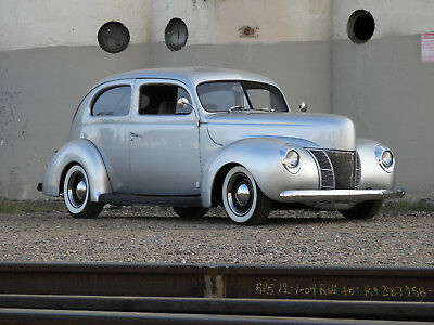 1940 Ford Deluxe Air Ride, Fuel Injection, Full Power! 1940 Ford Deluxe Resto Mod