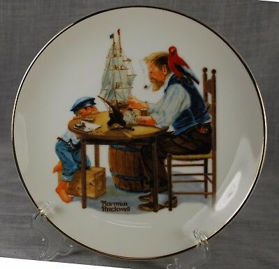 "Norman Rockwell's ""For A Good Boy"" Norman Rockwell Museum Collection 1984."