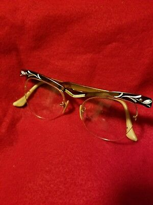 Retro vintage women's glasses by Bausch and Lomb....