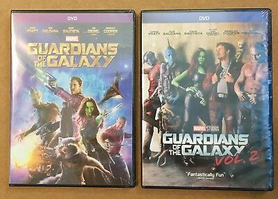Guardians of the Galaxy Vol. 1 & Guardians of the Galaxy Vol. 2 DVD Marvel Set