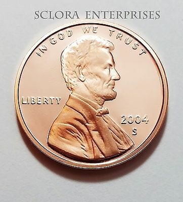 2004 S Lincoln Memorial *proof* Cent / Penny  **free Shipping**