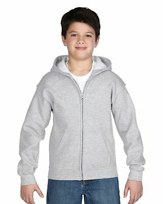 Sweatshirt Kinder Gildan Heavy Blend Classic Fit Youth Full Zip Hooded