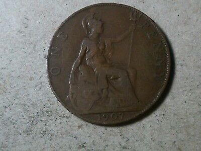 Great Britain. 1 penny  1907  Edward VII