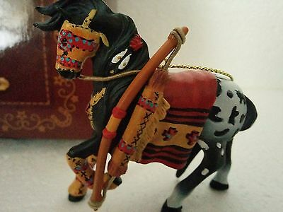 """TRAIL OF PAINTED PONIES   Ornament  """" Guardian of Sunset's Gate """" Christmas 2015"""