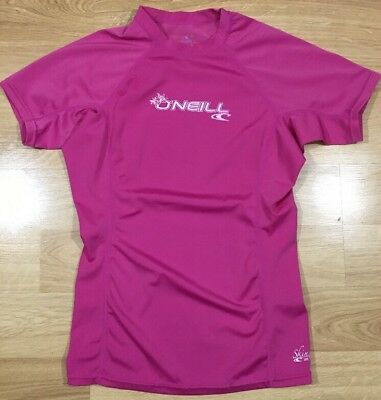 ONEILL Shirt Youth Size Large Skins UPF 50+ Pink