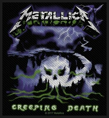 Metallica Creeping Death Patch Official Heavy Metal Band Merch New