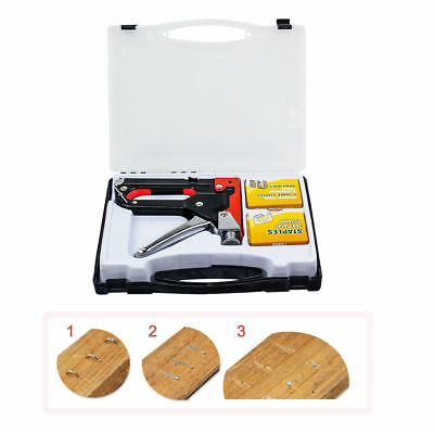 HEAVY DUTY STAPLE GUN TACKER UPHOLSTERY STAPLER + 900 Nails gun staple gun kit
